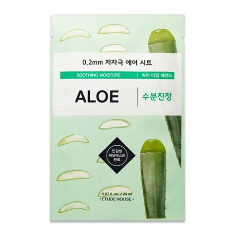 Etude House 02mm Therapy Air Mask Sheet 1 etude house mask sheet 0 2 therapy air mask aloe