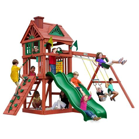home depot swing set kits image gallery playground sets