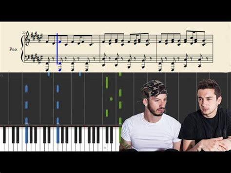 keyboard runs tutorial twenty one pilots the run and go piano tutorial