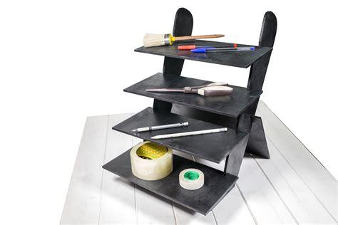 tavolo espositore espositore da tavolo in legno fatto a mano ad incastri 4