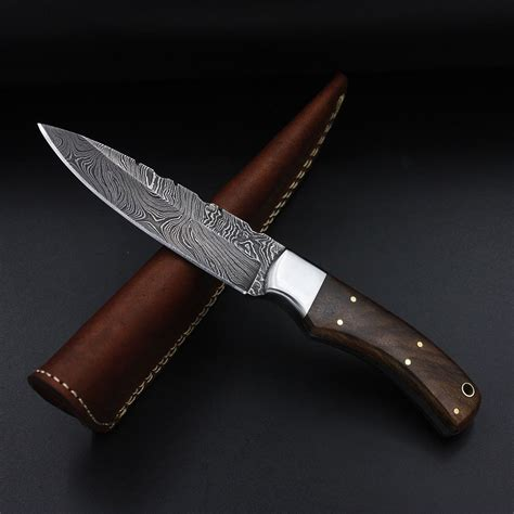 Handmade Steel - priscilla handmade damascus steel knife with