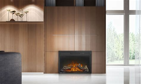 plug in fireplace heater napoleon cinema 27 in plug in electric fireplace nefb27h