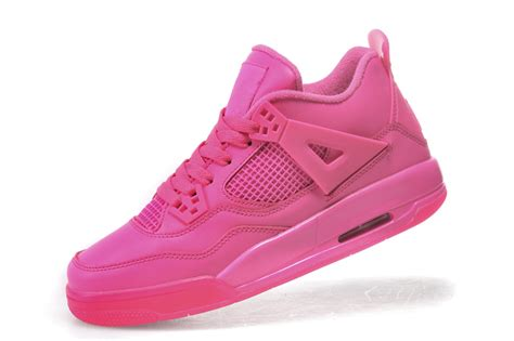 pink womens basketball shoes air womens basketball shoes air 4 retro