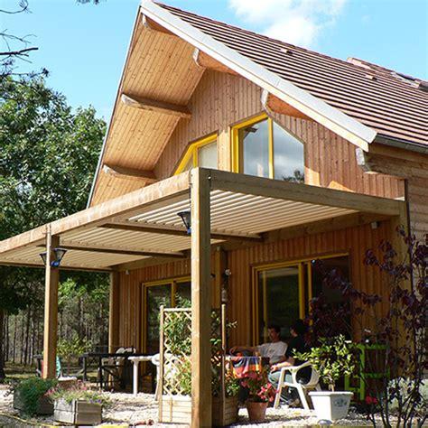 veranda reihenhaus pergola bioclimatique alu bois acier laquelle choisir