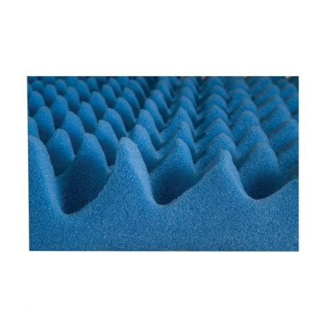 Convoluted Foam Mattress Pad by New Egg Crate Convoluted 2 Inch Foam Mattress Pad Topper