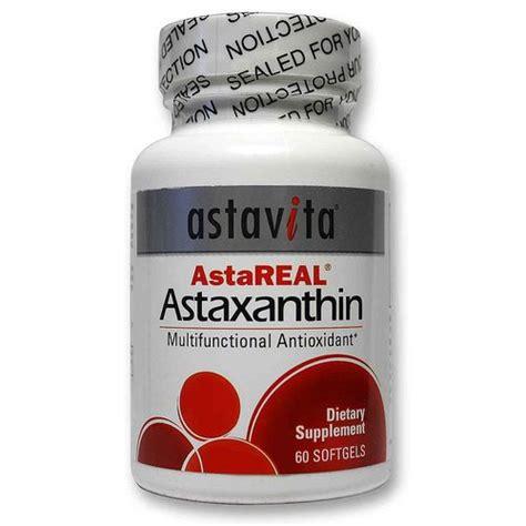 Astaxanthin Detox astavita astareal astaxanthin 60 softgels evitamins