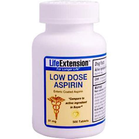 aspirin dosage for dogs extension low dose aspirin 81 mg 500 tablets iherb
