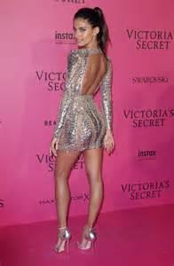 Garden Formal Dresses - sara sampaio victoria s secret fashion show 2016 after party in paris