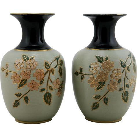 Langley Pottery Vase by Lovatt Lovatt 8 Quot Pair Of Vases Langley Mill Pottery