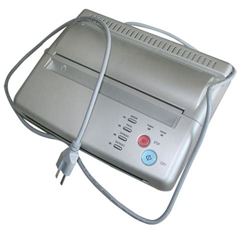 metallic tattoo printer silver tattoo transfer copier printer machine thermal