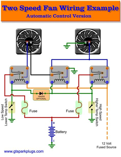 flex a lite electric fan wiring diagram wiring diagram