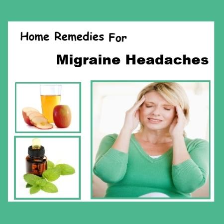 9 best home remedies for migraine headaches