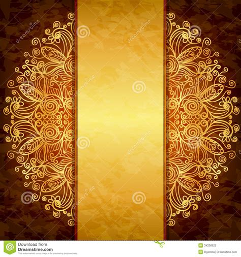 home design gold free vintage gold design royalty free stock photo image