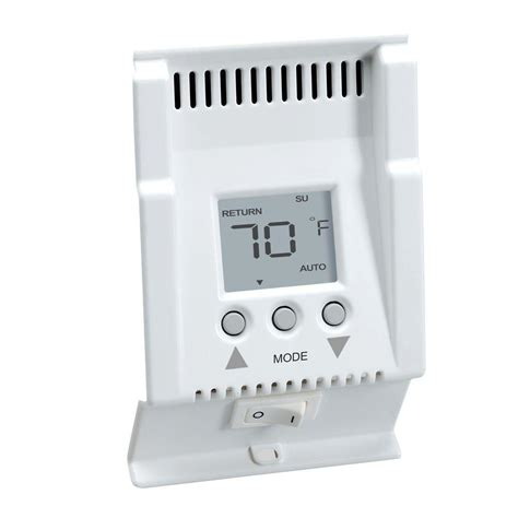 thermostat controlled electric baseboard heater cadet smart base 240 volt 5 1 1 programmable 4 events day