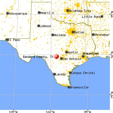 map of bandera texas bandera county texas detailed profile houses real estate cost of living wages work