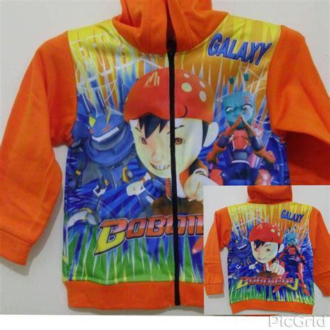 Jaket Karakter Size jaket anak karakter boboiboy size m grosir eceran baju anak murah berkualitas