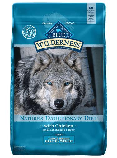 blue wilderness puppy blue wilderness large breed healthy weight chicken