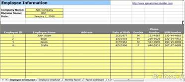 download free payroll spreadsheet template payroll