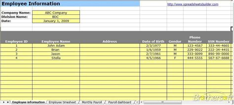 Download Free Payroll Spreadsheet Template Payroll Spreadsheet Template 1 0 Download Payroll Template Excel Free