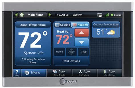 thermostats controls trane