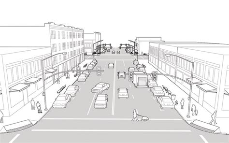 design guidelines sketch neighborhood main street national association of city