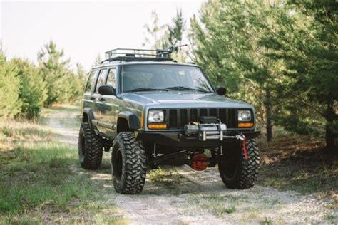 jeep cherokee xj grey 1j4fj68s4vl581924 jeep cherokee xj fresh 2x build