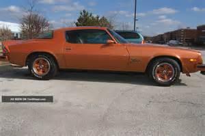 1977 chevrolet camaro z28 orange metallic only 13k orig mi