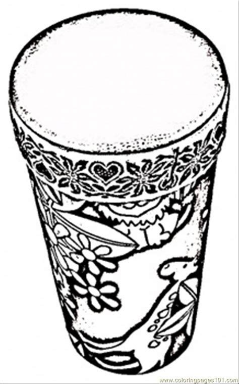 african instruments coloring page free coloring pages of african drums