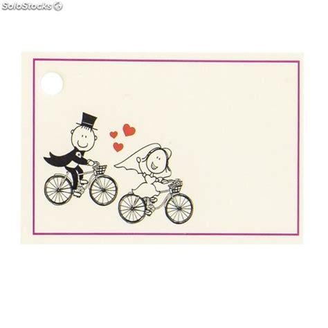 tarjetas de cart n tarjetas personalizadas tarjetas personalizadas novios en bicicleta