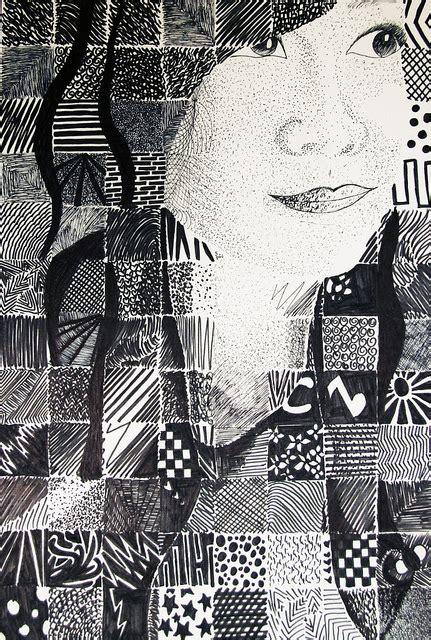 grid pattern portrait self portraits twenty first century art and design