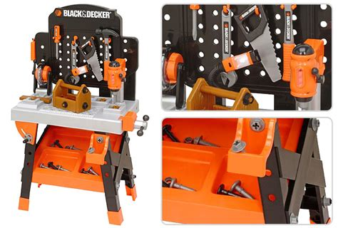 black and decker kids tool bench black and decker junior power tool workshop