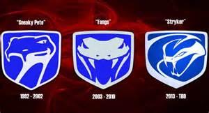 Dodge Viper Logo Meet Stryker The 2013 Srt Viper S New Venomous Logo