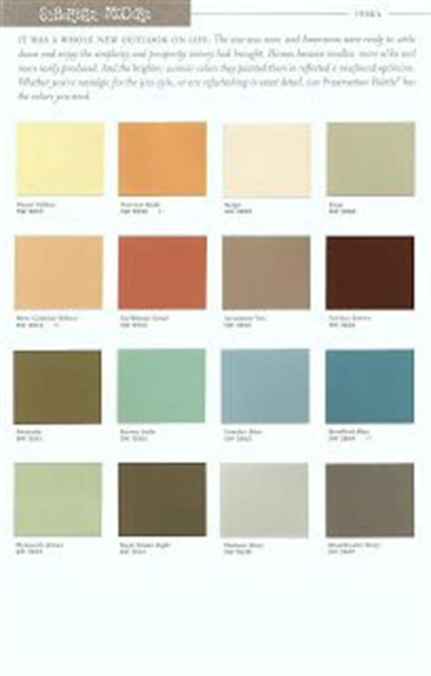 paradise palms some mid century modern paint colors repinned by secret design studio