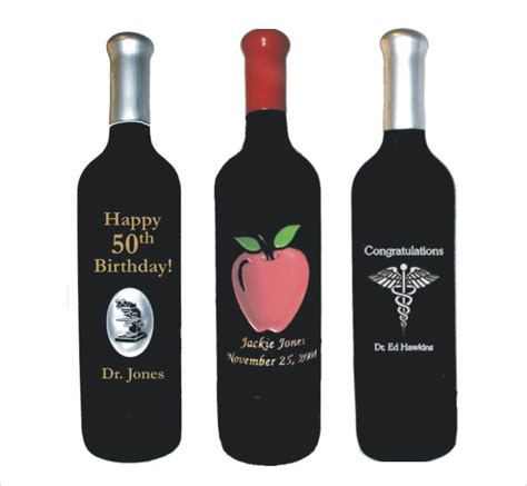 personalized engraved wine bottles deep etched custom