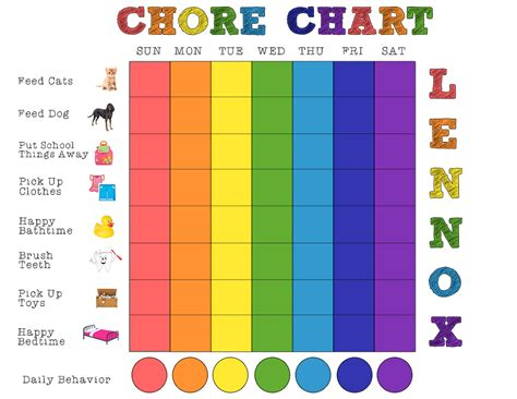 chore charts for 6 year olds yahoo image search results chores pictures cliparts co