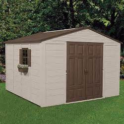 Outdoor Storage Buildings Suncast 10 X 10 Outdoor Storage Building Shed