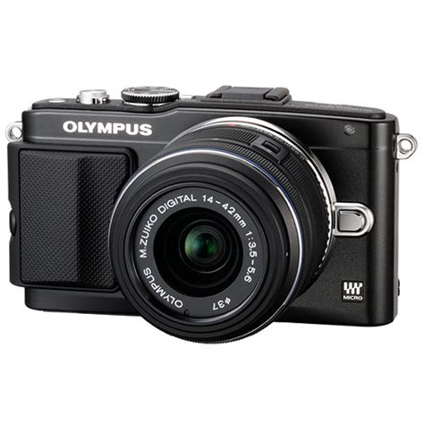 Olympus Pen F Mirrorless Micro Four Thirds Digital Only olympus e pl5 mirrorless micro four thirds digital v205041bu000