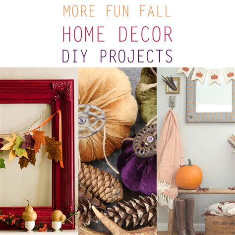 more fall home decor diy projects the cottage market