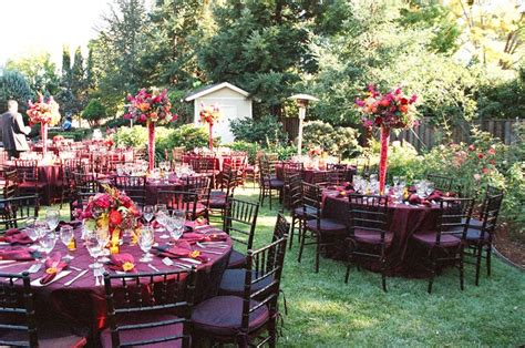 Backyard Luau Wedding Reception Augusta Līgavas 2015
