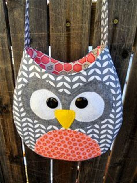 Owl Patchwork Bag 02 25 diy quilted handbags guide patterns