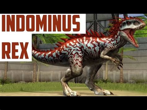 indominus rex level 40 hybrid dino jurassic world