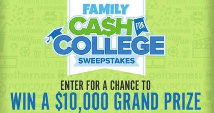 College Sweepstakes - fandango 2016 cash for college sweepstakes sun sweeps