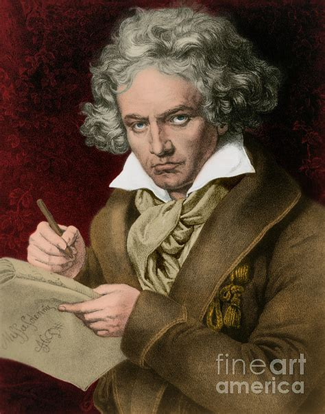 ludwig van beethoven biography german ludwig van beethoven german composer by photo researchers