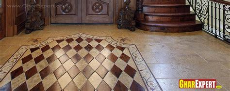 tiles design gharexpert marble floor pattern for lobby foyer gharexpert
