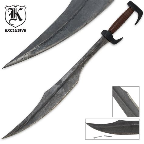 Troy Company Wallet Troy Company 300 spartan warrior replica sword budk knives
