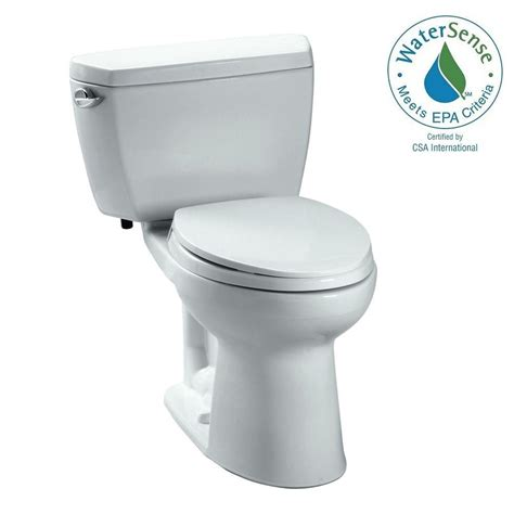 Eco Drake Toilet 1 28 Gpf by Toto Drake Eco 2 Piece 1 28 Gpf Single Flush Elongated