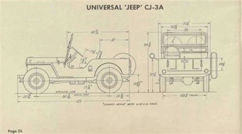 Length Of Jeep Willys Jeep Dimensions