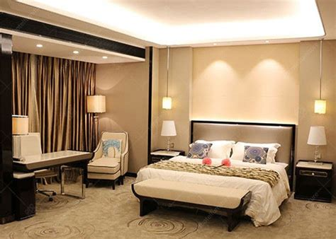 Hotel Bedroom Furniture Sets veneer and marble five hotel furniture king size