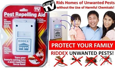 Riddex Pest Repelling Aid Alat Pengusir Tikus Kecoa Limited buy new riddex pest repelling aid deals for only rp100 000 instead of rp100 000