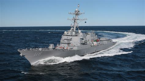 U S Navy u s navy accepts delivery of arleigh burke class